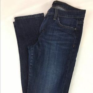 Joes Jeans straight leg stretch dark wash size 28L